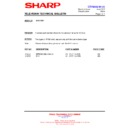 Sharp 66GF-63 (serv.man37) Technical Bulletin