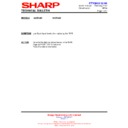 Sharp 66GF-63 (serv.man38) Technical Bulletin