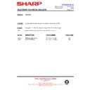 Sharp 66GF-63 (serv.man39) Technical Bulletin