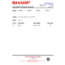 Sharp 66GF-63 (serv.man40) Technical Bulletin