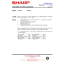 Sharp 66GF-63 (serv.man44) Technical Bulletin