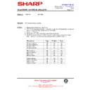 Sharp 76EF-20H (serv.man27) Technical Bulletin