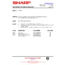 Sharp 76EF-20H (serv.man28) Technical Bulletin