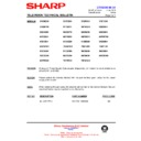 Sharp 76EF-20H (serv.man32) Technical Bulletin