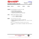 Sharp 76EF-20H (serv.man33) Technical Bulletin
