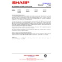 Sharp 76FW-54H (serv.man15) Technical Bulletin
