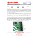 Sharp 76FW-54H (serv.man16) Technical Bulletin