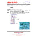 Sharp 76FW-54H (serv.man19) Technical Bulletin