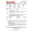Sharp 76FW-54H (serv.man20) Technical Bulletin