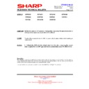 Sharp 76FW-54H (serv.man25) Technical Bulletin
