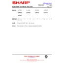 Sharp 76FW-54H (serv.man33) Technical Bulletin