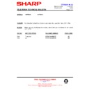 Sharp 76FW-54H (serv.man37) Technical Bulletin