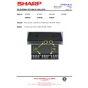 Sharp 76FW-54H (serv.man38) Technical Bulletin