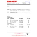 Sharp 76FW-54H (serv.man40) Technical Bulletin