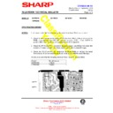 Sharp 76FW-54H (serv.man43) Technical Bulletin