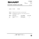 Sharp DV-5165H (serv.man9) Technical Bulletin