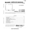 Sharp LC-121M2E (serv.man2) Service Manual