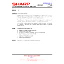 Sharp LC-15A2E (serv.man12) Technical Bulletin
