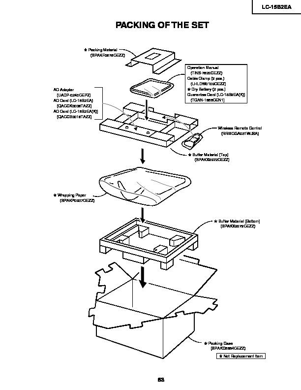 Sharp Lc-15b2ea  Serv Man15  Service Manual