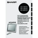 Sharp LC-20E1E (serv.man11) User Guide / Operation Manual