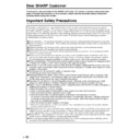 Sharp LC-20E1E (serv.man12) User Guide / Operation Manual