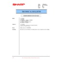 Sharp LC-20E1E (serv.man28) Technical Bulletin