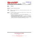 Sharp LC-20VM2E (serv.man7) Technical Bulletin
