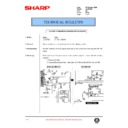 Sharp LC-20VM2E (serv.man9) Technical Bulletin