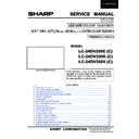 Sharp LC-24DV250K (serv.man2) Service Manual