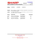 Sharp LC-32DH500E (serv.man25) Technical Bulletin