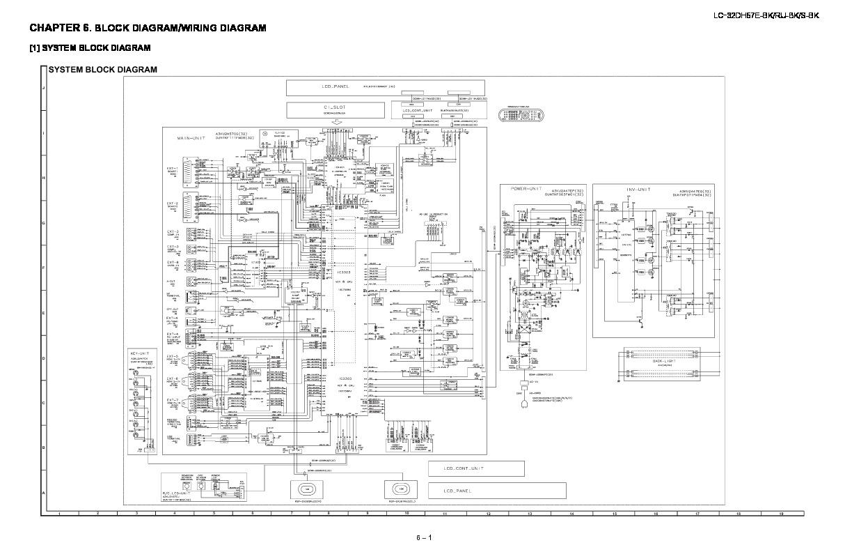 sharp lc-32dh57e  serv man10  parts guide