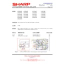 Sharp LC-32GD8EK (serv.man43) Technical Bulletin