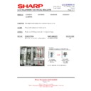 Sharp LC-32GD8EK (serv.man44) Technical Bulletin