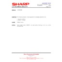 Sharp LC-32GD8EK (serv.man46) Technical Bulletin