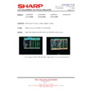 Sharp LC-32GD8EK (serv.man47) Technical Bulletin