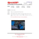 Sharp LC-32GD8EK (serv.man48) Technical Bulletin