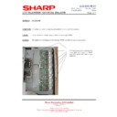 Sharp LC-32GD8EK (serv.man49) Technical Bulletin