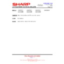 Sharp LC-32GD8EK (serv.man55) Technical Bulletin
