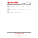 Sharp LC-32GD8EK (serv.man57) Technical Bulletin