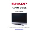 Sharp LC-32GD8EK Specification