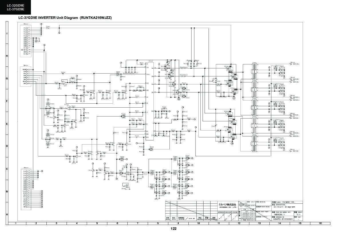 Sharp Lc 32gd9ek Servman11 Service Manual Free Download Major Igbt Inverter Schematic Wiring Diagram Servman22