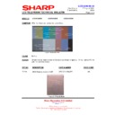 Sharp LC-32GD9EK (serv.man42) Technical Bulletin