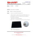 Sharp LC-32GD9EK (serv.man45) Technical Bulletin