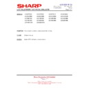 Sharp LC-32GD9EK (serv.man48) Technical Bulletin
