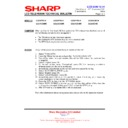 Sharp LC-32GD9EK (serv.man50) Technical Bulletin