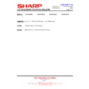 Sharp LC-32GD9EK (serv.man51) Technical Bulletin