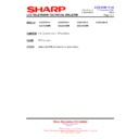 Sharp LC-32GD9EK (serv.man53) Technical Bulletin