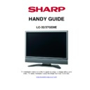 Sharp LC-32GD9EK Handy Guide