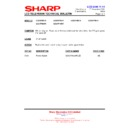 Sharp LC-32P55E (serv.man60) Technical Bulletin