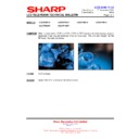 Sharp LC-32P55E (serv.man61) Technical Bulletin